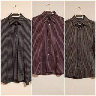 3 camisas talla L