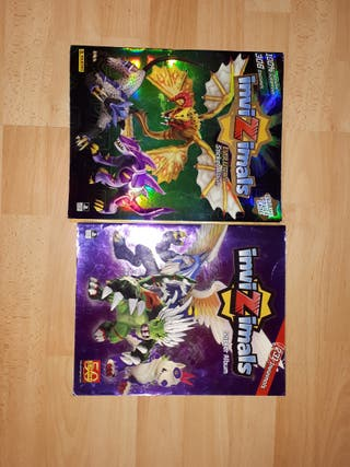 2 álbumes Invizimals + juego psp