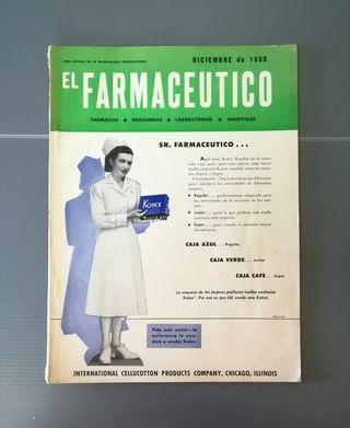 1950. Revista EL FARMACÉUTICO