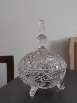 bombonera cristal