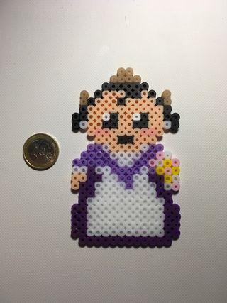 Fallera hecho con hama beads