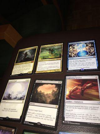 9 cartas Magic The Gathering raras e infrecuentes