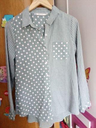 Camisa algodón mujer Talla L ó 40