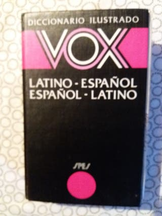 Diccionario Vox Latin Español, Incluye gramática