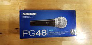 Micrófono Shure PG48-XLR