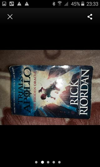 Rick Riordan. Trials of Apollo.
