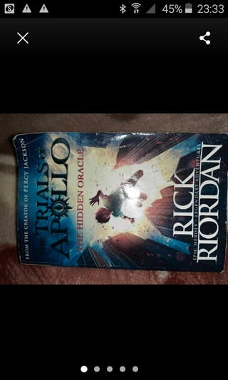 Rick Riordan. Trials of Apollo.