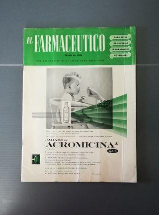 1958. Revista EL FARMACÉUTICO
