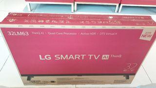 LG 32 inch full HD smart boxed new tv
