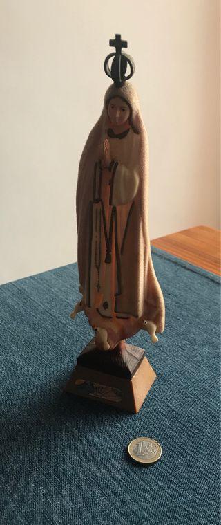 Figura antigua virgen de Fatima