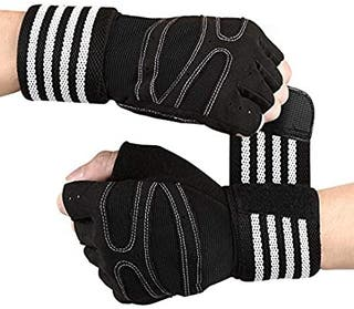 Guantes Gimnasio Hombre Mujer, Gym Guantes Muscula