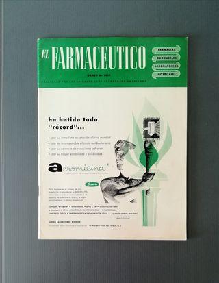 1955. Revista EL FARMACÉUTICO