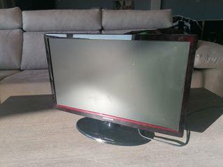 tv Samsung con un golpe