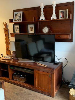 MUEBLE PARA TV Y ESTANTERÍA