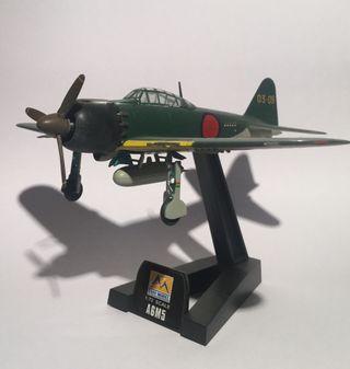 Maqueta avión A6 japonés