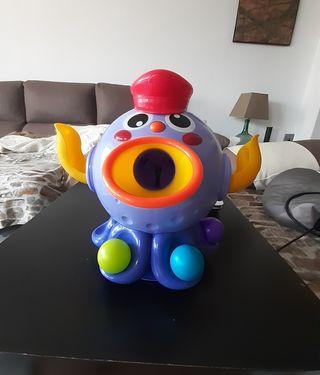Pulpo lanza pelotas (Pulpo loco)