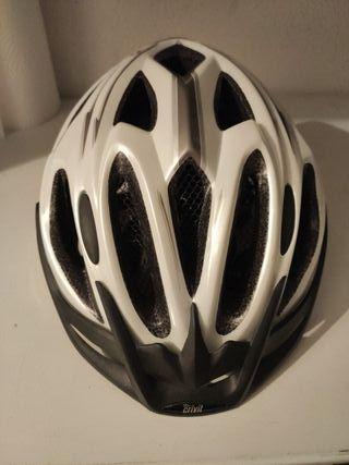 Casco bicicleta crivit blanco sin usar