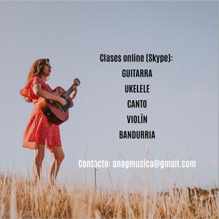Clases de guitarra, ukelele, música
