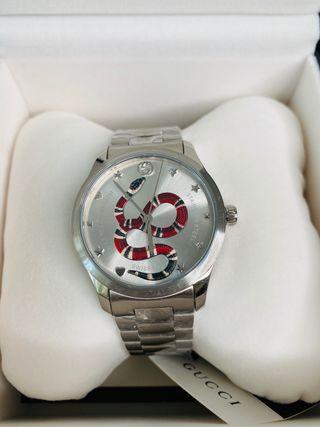 Reloj Gucci analógico unisex Acero plateado