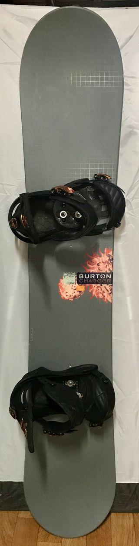 Tabla Snowboard Burton Charger.