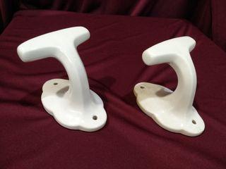 conjunto de Percha colgador ceramico
