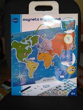Magneto Mapamundi - Itsmagical