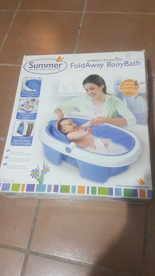 bañera de viaje