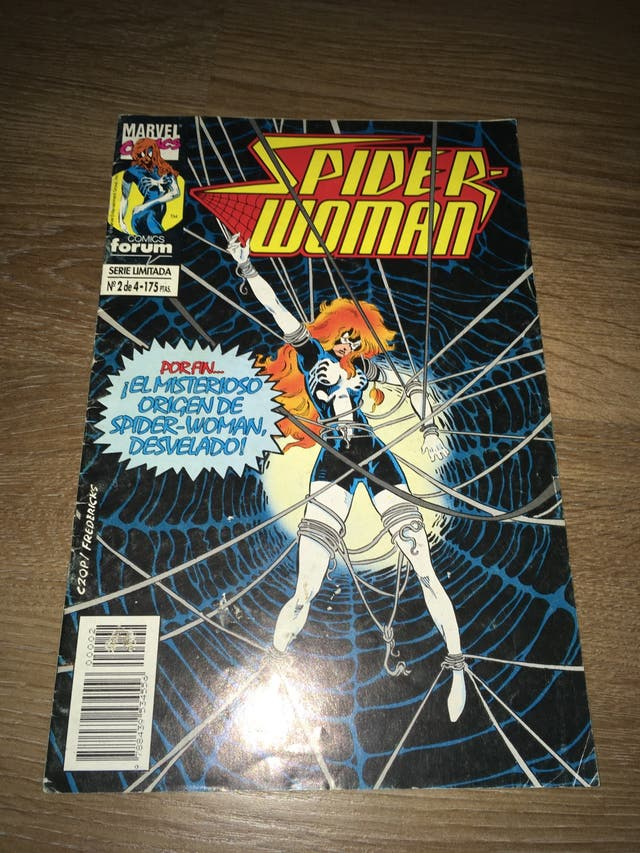 COMICS/TEBEOS FORUM-SPIDERWOMAN