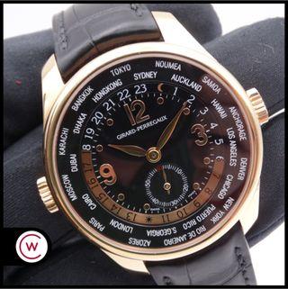 GIRARD PERREGAUX WW.TC World Time Small Second Oro