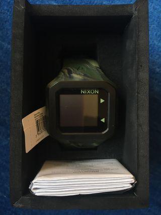 Reloj NIXON SUPERTIDE MARBLED CAMO