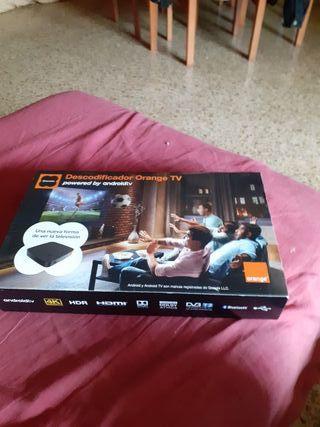 decodificador tv orange