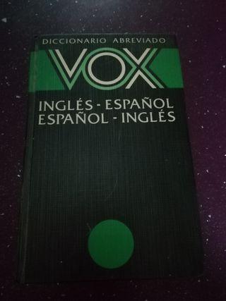 Diccionario de inglés VOX
