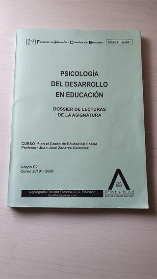 Psicología del desarrollo en educación