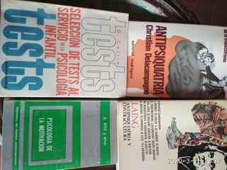 4 Libros de psicologia