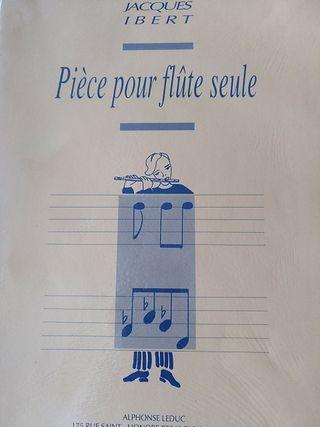 Jacques Ibert. Pieza para flauta sola