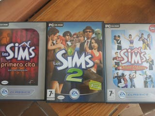 Pack Sims 2 originales PC CD ROM