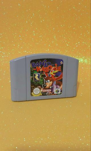 BANJO KAZOOIE para N64