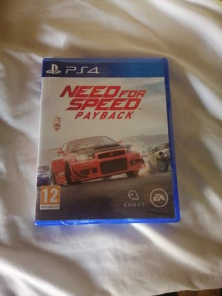 need for speed payback cambio o vendo ps4