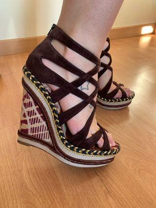 Zapatos espadrilles Christian Louboutin
