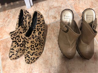 Zuecos y botines