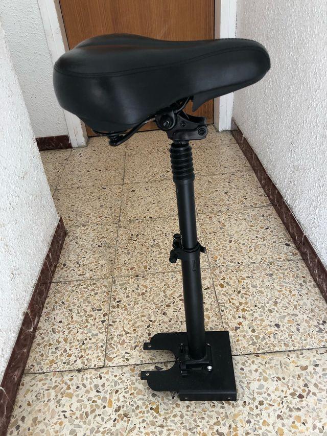 silla del patinete