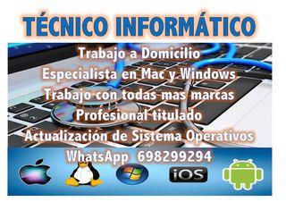 Técnico Informático a Domicilio / Renoto