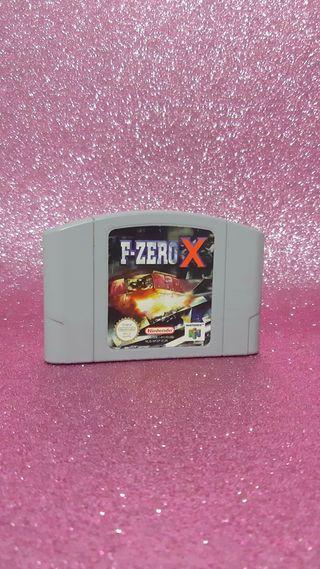 F-ZERO X N64
