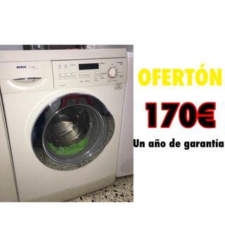 Lavadora económica Bosch 6 kg con garantía