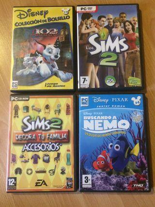 Pack 4 Juegos PC