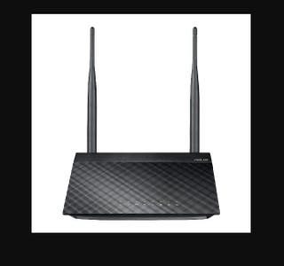 ROUTER ASUS DOBLE ANTENA 300 MBS