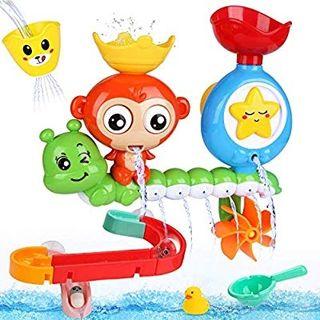 BBLIKE Juguetes Bañera - Juegos de Agua Orgsnizado
