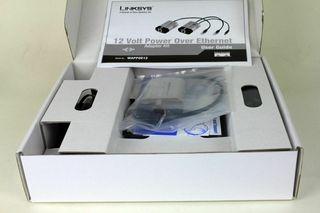Alimentación Kit Adaptador Linksys WAPPOE12 - 12 V