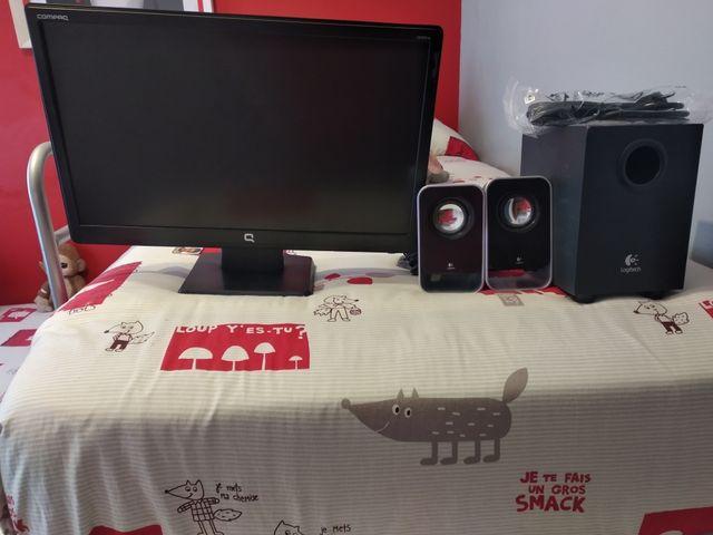 monitor HP y altavoces funcionan perfectamente