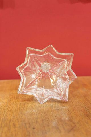 Bombonera de cristal de bohemia